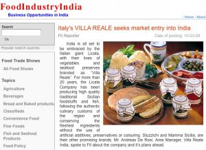 Villa Reale enters India