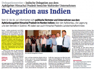 Indian Delegation in Italy